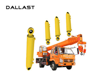 Multistage Single Acting Hydraulic Cylinder With Piston Rod Crane