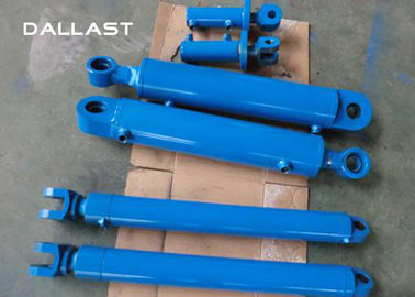 Customized Telescopic Double Acting Cylinder for Excavator / Trailer / Truck