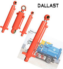 16-35 MPa Single Acting Telescopic Hydraulic Cylinders for Garbage Truck Station