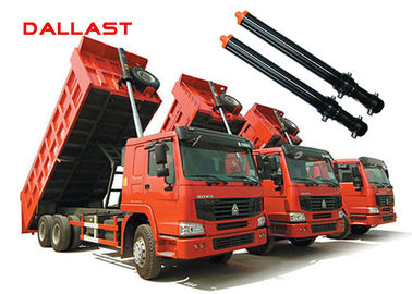 Hyva Type Single Acting Lift Telescopic Hydraulic Cylinders for Dump Truck