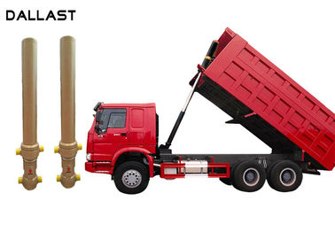 Multi Stage Telescopic Hydraulic Cylinder , Agricultural Telescopic Dump Truck Cylinders