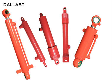 Double Acting Telescopic Hydraulic Cylinder , Piston Farm Machinery Hydraulic Oil Cylinder