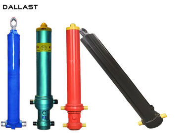 Customized Single Acting Hydraulic Cylinder for Agricultural Dump Truck / Farm Truck