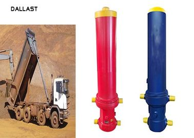 20 Inch Stroke Dump Truck Dump Truck Hydraulic Cylinder Single Acting Welded