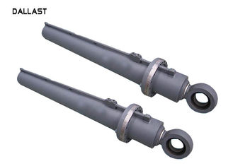 24 Inch Excavator Hydraulic Cylinder Heavy Duty Piston Rod Quenching Heat Treatment