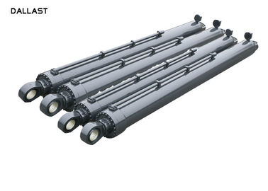Heavy Duty Column Telescopic Double Acting Cylinder Durable Support For Mining
