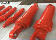 Hydraulic Industrial Double Acting For Excavator Boom / Arm / Bucket Cylinder