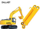 China Heavy Duty High Pressure Hydraulic Cylinder Dual Stage For Industrial Crane Excavator company