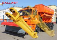 Heavy Duty Welded Double Acting Hydraulic Cylinder For Forklift / Crane / Dozer