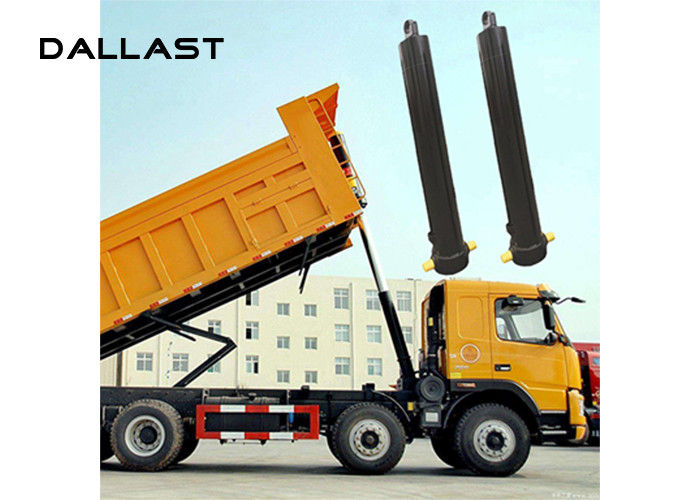 Multi Stage Telescopic Hydraulic Cylinder , Single Acting Dumper