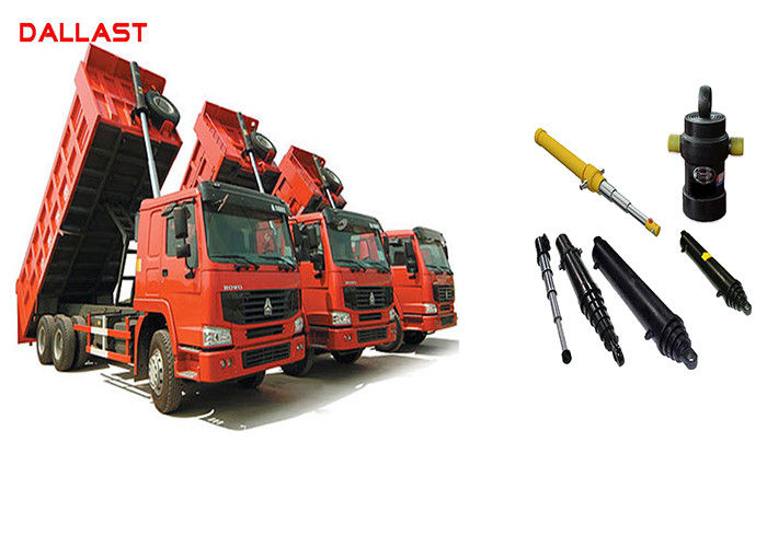 Single Acting Hydraulic Ram Telescopic Hydraulic Lift Cylinder for Industrial Machinery