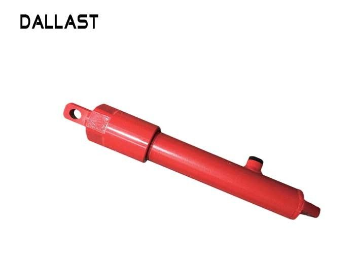 Double Rod Hydraulic Cylinder For Agricultural Harvester , Agricultural Hydraulic Rams