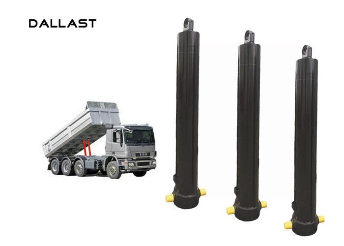 Single Acting Telescopic Long Stroke Dump Truck Hydraulic Cylinder