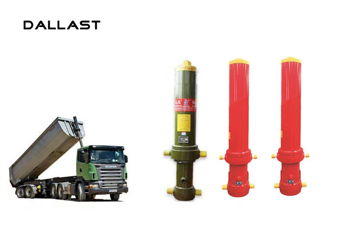 Giant Dumper Multistage Telescopic Front End Hydraulic Cylinder