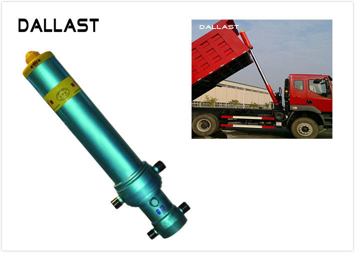 2/3/4 Stage Parker FC Type Single Acting Hydraulic Cylinder For Vehicles