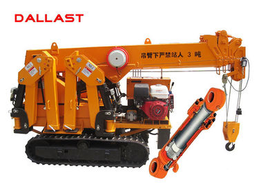 China Regulated Type Hydraulic Hoist Cylinder for Construction Machinery Tower Crane factory