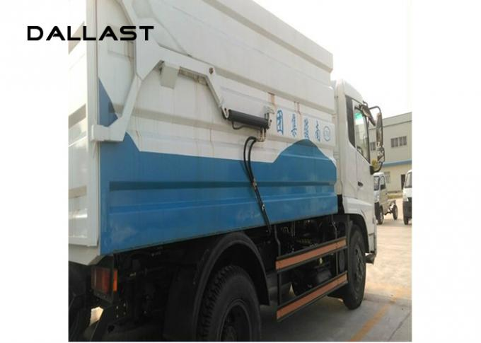 Sanitation Station Garbage Truck Hydraulic Cylinders 16 - 18 Mpa Working Pressure Pressure