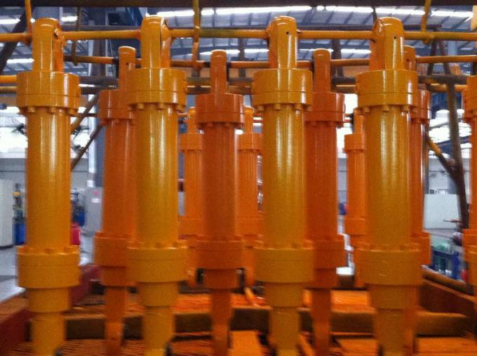 Lifting Chromed Industrial Hydraulic Cylinder Crane Oil Cylinder
