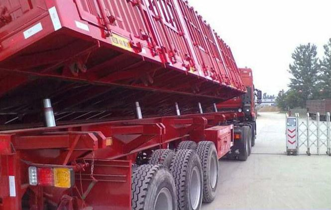 Single Acting Sleeve Side Dumper Truck Telescopic Hydraulic Cylinder