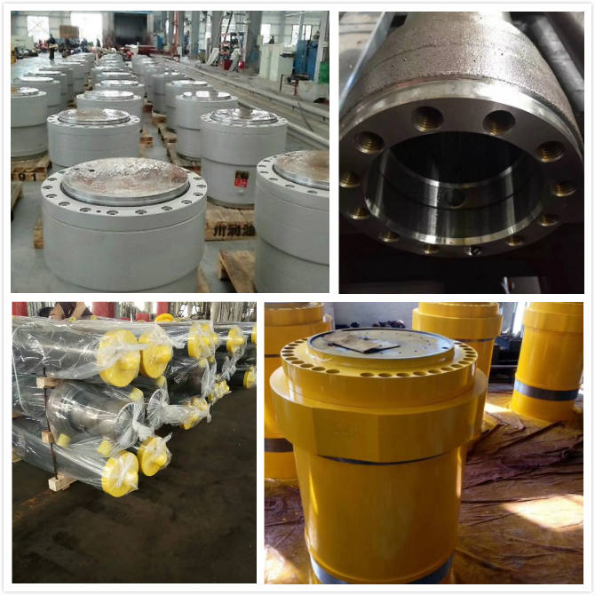High Tonnage Hydraulic Cylinder Industrial High Pressure Double Acting