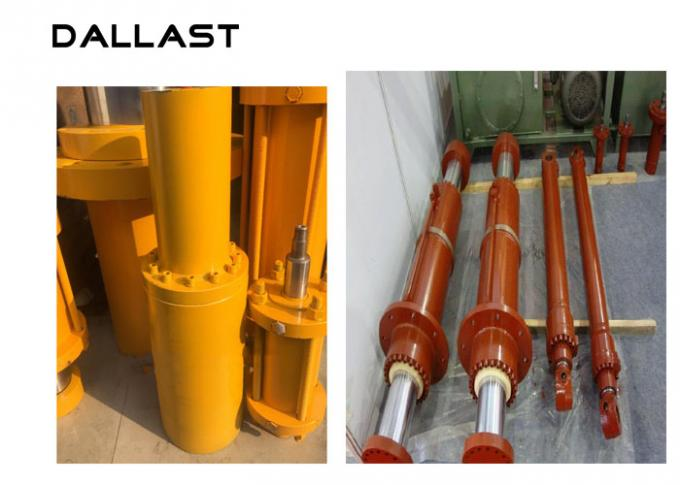 High Press Horizontal Hydraulic Cylinder Double Acting 20-400 mm Shaft Diameter