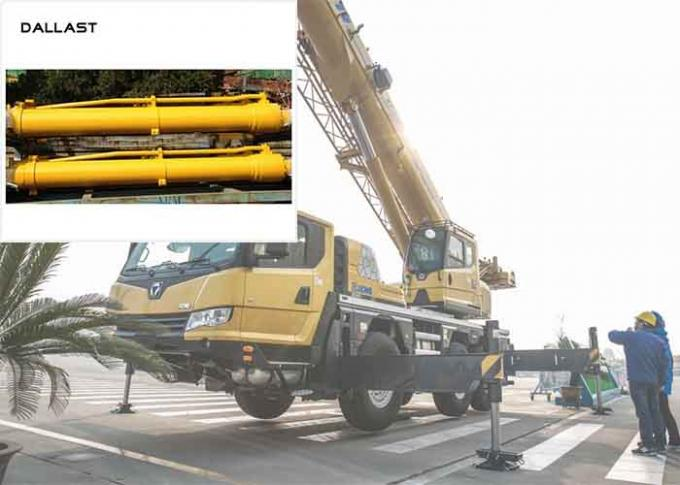 Stroke 1000 - 3000mm Hydraulic Industrial Double Acting For Crane