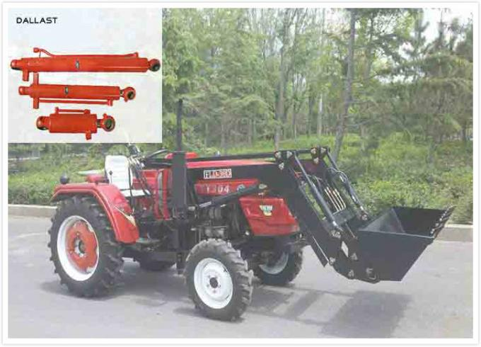 Medium Pressure Agricultural Hydraulic Cylinders Medium Stroke For Harvester