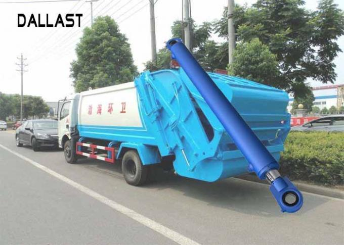 Double Acting Hydraulic Cylinder With Piston For Garbage Truck