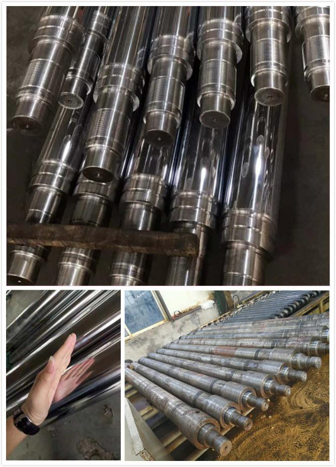 Hydraulic Hard Chrome Piston Rod , Chrome Plated Round Bar CNC Machining Process