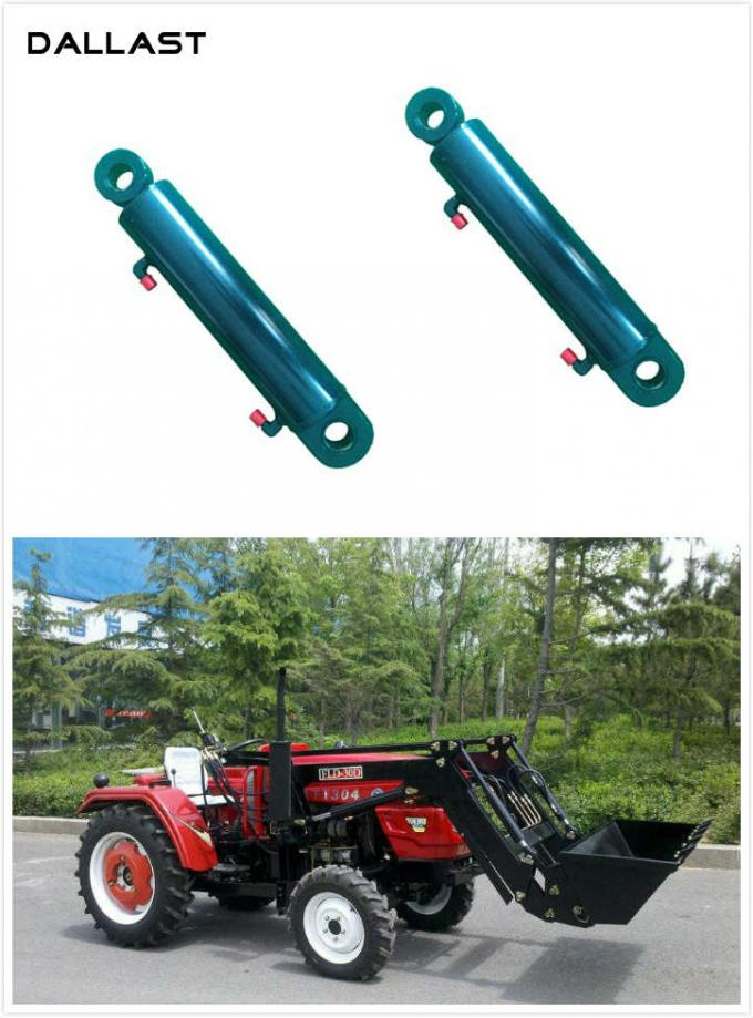 Telescopic Double Earring Agricultural Hydraulic RAM Cylinders for Farm Tractor
