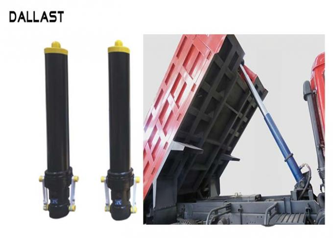 Sleeve Telescopic Front Hydraulic Cylinder Single Acting For Tipper