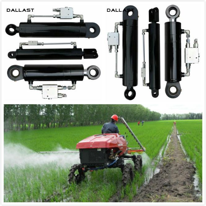 Custom Agricultural Hydraulic Cylinders for Plant protection Spraying Machine