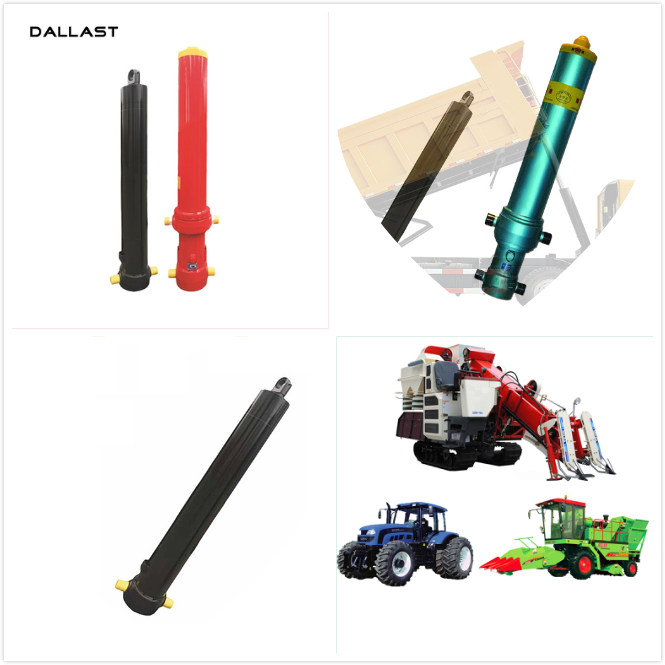 Customized Agricultural Hydraulic Cylinders 8412210000 HS Code , Agricultural Hydraulic Rams