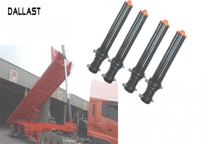 Dump Truck and Trailer Hydraulic Cylinder Single Acting For Engineering Machinery