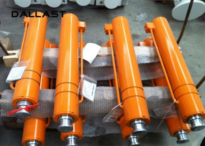 Customized Chromed Lift Unloading Platform industrial Hydraulic Cylinder