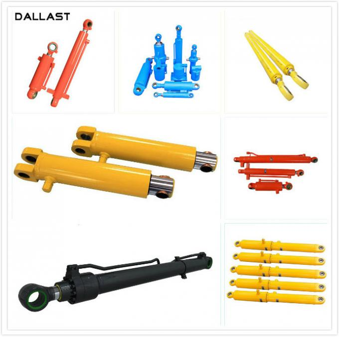 Dump Truck / Garbage Truck Hydraulic Cylinders  ISO 9001 Certification