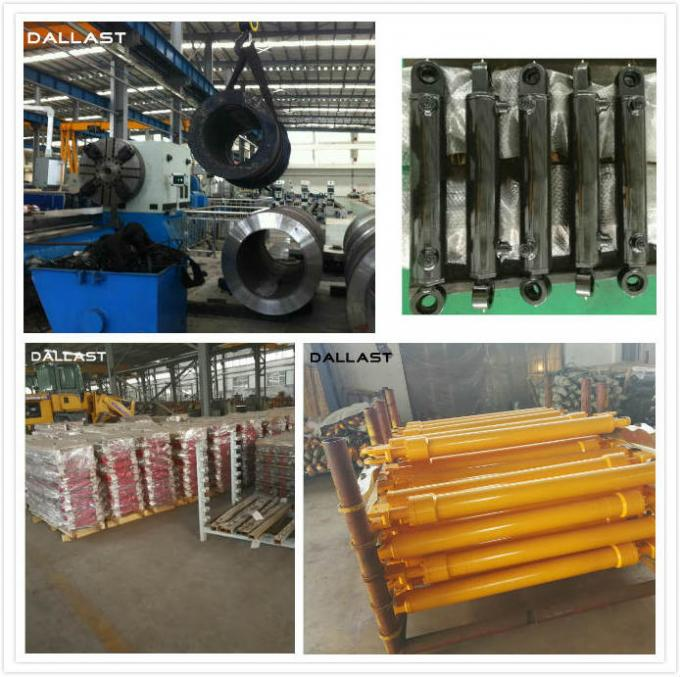 Double Rod End Hydraulic Cylinder , Double Ended Hydraulic Ram 16-32 Mpa