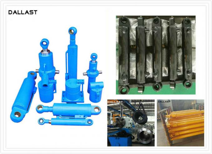 Customized Double Acting Hydraulic Cylinder 8412210000 HS Code for Rubbish Truck