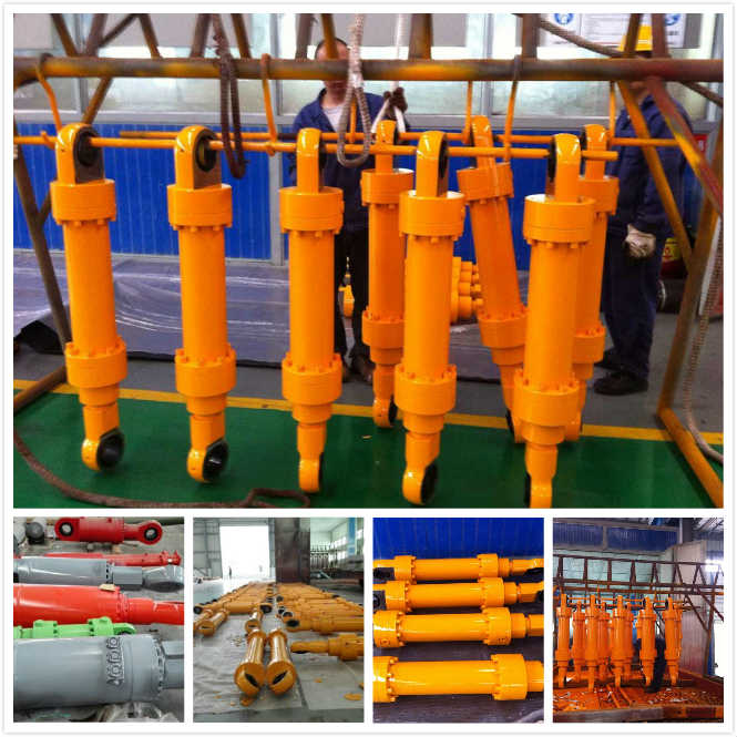 Heavy Duty Welded Double Ended High Pressure Hydraulic Cylinder RAM