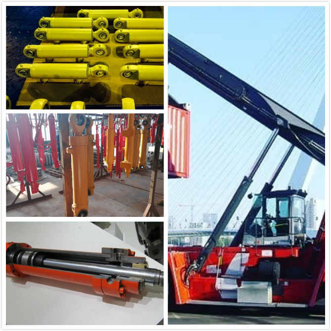 HSG Double Acting Hydraulic Cylinder Ram High Pressure 30 Ton Truck