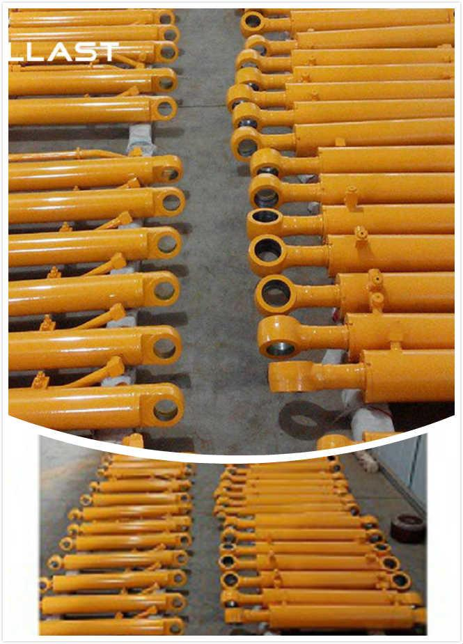 Double Acting High Pressure Hydraulic Cylinder 6 Inch Bore Push Pull 2 Way Welded