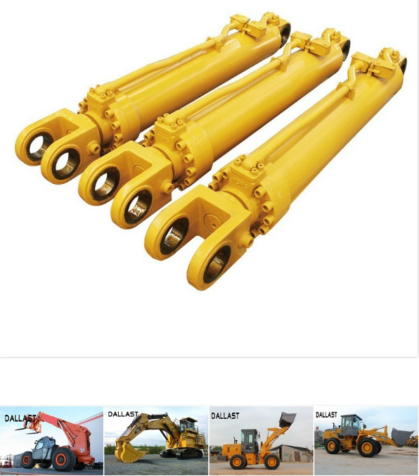 Short Stroke Double Acting Hydraulic Cylinder Stainless Steel Piston Rod Oil Cylinder RAM